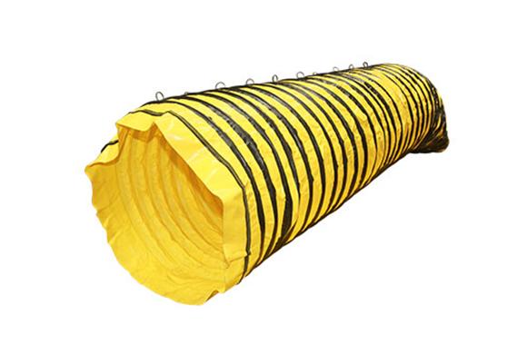 Semi rigid ventilation duct