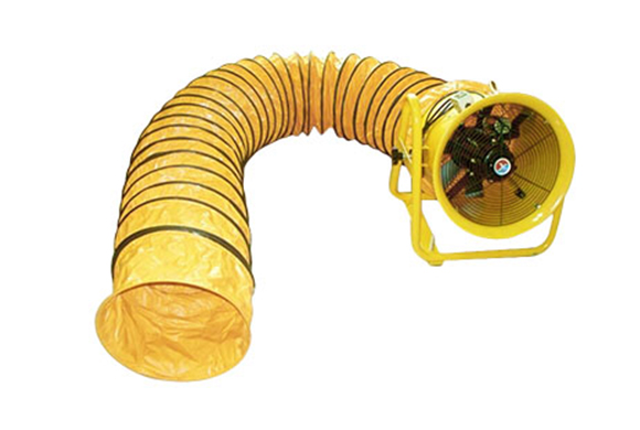 flexible duct and vent fan